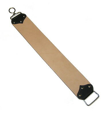 "Professional Leather Barber Strop strap, Straight Razor Shaving Strop 3"" X 21.5"""