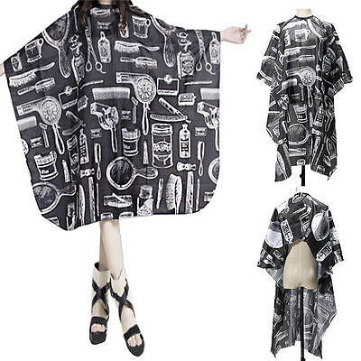 Pro Adult Salon Hair Cut Hairdressing Hairdresser Barbers  Waterproof Cape Gown
