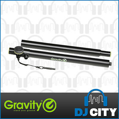 Gravity Speaker Distance Pole GSP3332TPB 2-Piece Satellite Stand - Single Stand