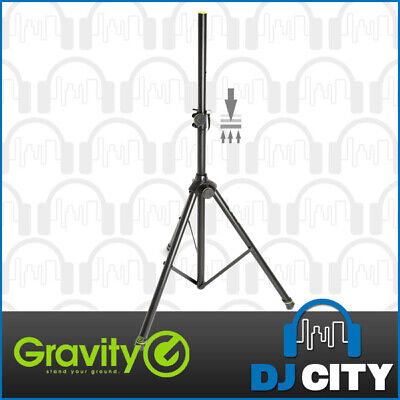 Gravity Heavy Duty Speaker Stand Tripod With Gas Strut - 50kg Max Load