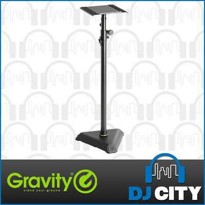 Gravity Studio Monitor Stand with Adjustable Tilt - Heavy Duty Stand - NEW