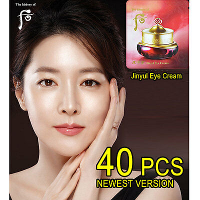 The history of Whoo Jinyul Eye Cream max 40pcs Anti-wrinkle Anti-aging