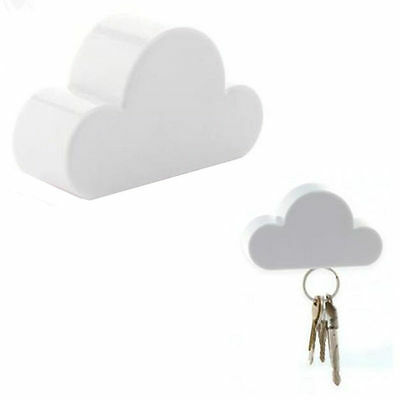 Magnetic New Hot Holder Key Holder White Cloud Creative Cloud-Shaped Keychain