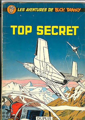 Eo 1960 Buck Danny N°22 Top Secret Couverture Souple Dupuis Charlier