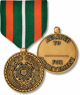 Coast Guard Achievement Medal NEW Full Size Made in USA Collector / Replacement