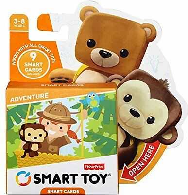 Fisher-Price Smart Cards Adventure Fun Game For Babys Development Play Toy New