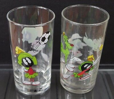 Collectable IXL Ltd Edition Marvin the Martian Looney Tunes Glasses