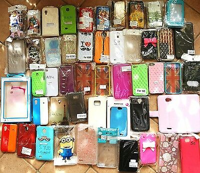 Vendo Lotto Stock di 222 cover custodie NGM,SAMSUNG,apple,nokia,LENOVO,WIKO,LG