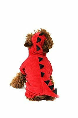 Red Dog Dragon / Dinousaur Fancy Dress Outfit Halloween