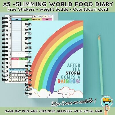 Diet Food Diary Slimming World Compatible Planner Tracker Log Book Weight Loss14