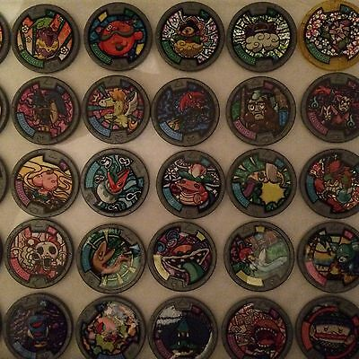 Yo-Kai Yokai Watch Medals Series 2 - Pick From List 95P 1St Comb - 50 To Collect