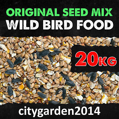 20kg Wild Bird Food Original Seed Mix - Garden Bird Food - Bird Feed