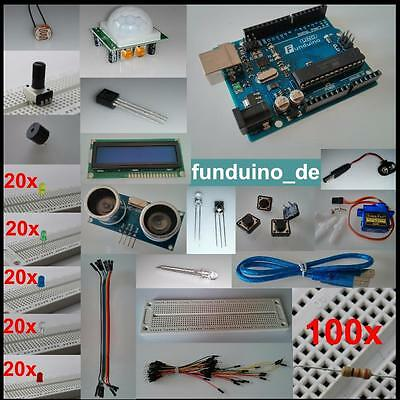 Size-rich Set for Arduino with UNO R3,over 250 Parts,Sensors,Executive elements