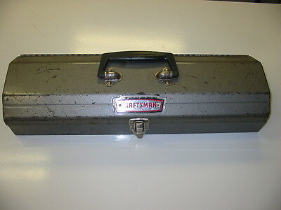Craftsman Tombstone Hip Roof Metal Tool Box Chest Crown