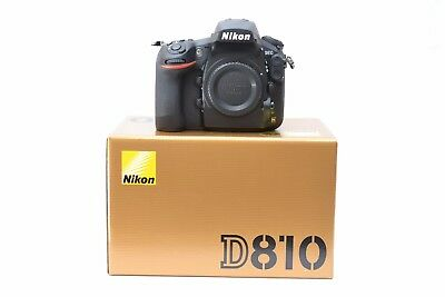 New Nikon D810 36.3MP DSLR Body Only - Multiple Languages - 3 Year Warranty
