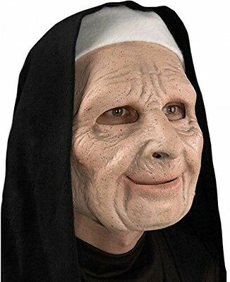 The Town Nun Mask costume Halloween Scary Movie thief Adult Full Latex terrify