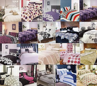 New Printed Duvet Cover With Pillow Case Quilt Cover Bedding Single King Double