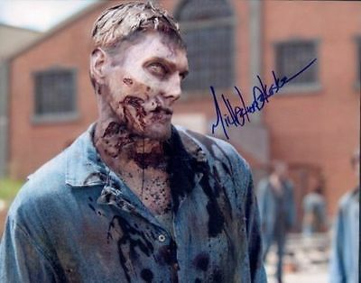Michael Koske In Person Signed Photo - A973 - The Walking Dead