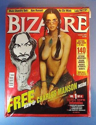 Bizarre Magazine Issue 33 Summer 2000 Mark Reeve Icons Blow-up Charles Manson