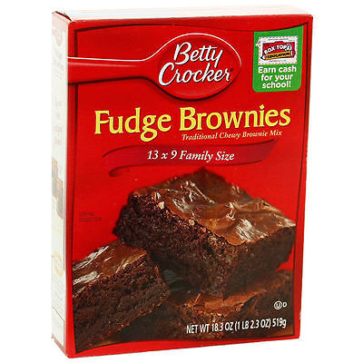 Betty Crocker Fudge Brownie Mix 519g American Version