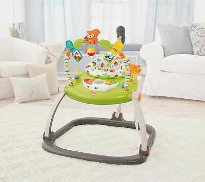 Fisher-Price Woodland Friends Jumper Bouncer Baby Exercise Freestanding Activity