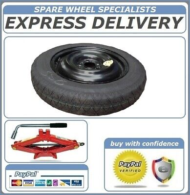 """Bmw X1 2009-2014 Space Saver Spare Wheel 17"""" And Tool Kit"""