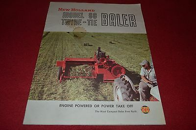 New Holland 66 Baler Dealer's Brochure YABE9