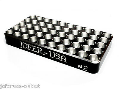 308 Winchester-30 06 - 6.5 Cred. Reloading Tray CNC Made Solid Billet Aluminum