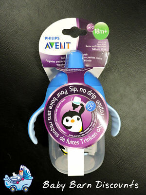 Avent Spout Cup 340 ml - 18 Months+ - Stage 2 - Blue