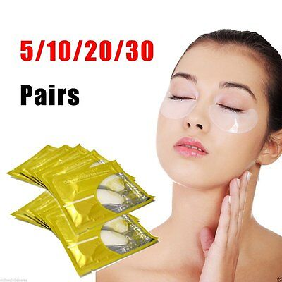 30 Pairs Anti-Wrinkle Dark Circle, Collagen Under Eye Patches Pad Mask Bag Gel B