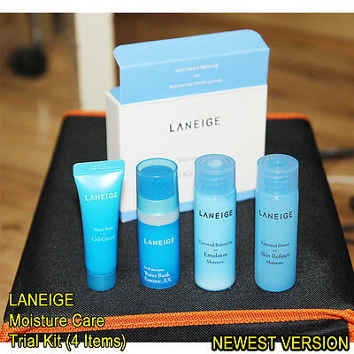 [LANEIGE] Moisture Care Trial Kit 4 Items 1set or 2 set / Basic Skin Care Kit
