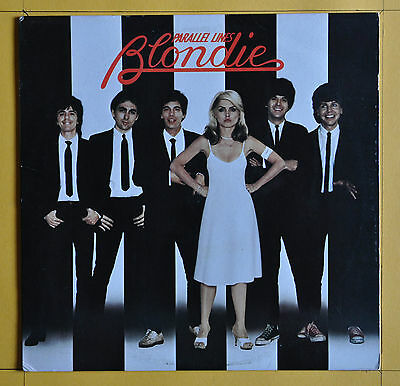 Terre Haute Press    Blondie ‎ Parallel Lines  Chrysalis CHR 1192  USA  1978