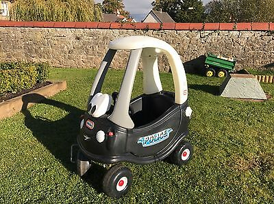 Little tikes cozy coupe police car spare parts for Little tikes spare parts