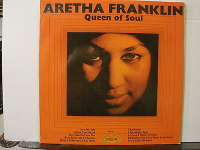 Aretha Franklin - Queen of Soul- Vinyl Lp - Free UK Post