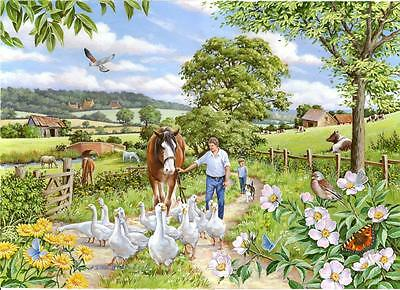 The House Of Puzzles - 250 BIG PIECE JIGSAW PUZZLE - Goosey Gander Big Pieces