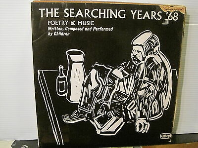 The Searching Years '68-Poetry & Music by Children - Vinyl Lp-Free UK Post
