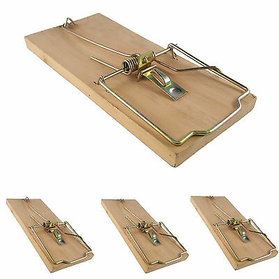 4x extra large heavy duty quality rat trap reusable catching mouse rodent