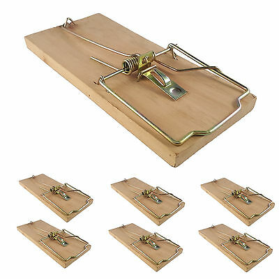 6x extra large heavy duty quality rat trap reusable catching mouse rodent