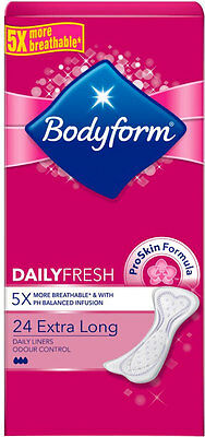 Bodyform Extra Long Pantyliners (24)