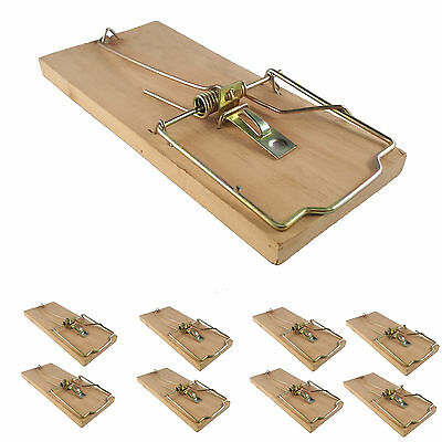8x extra large heavy duty quality rat trap reusable catching mouse rodent