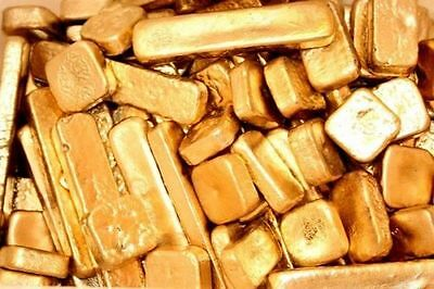 64 grams gold recovery gold bar Melted Drop Scrap plated Recovered cpu FREE SHIP