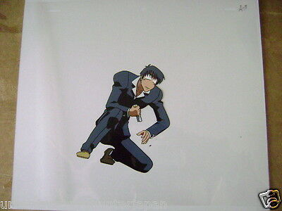 Trigun Nicholas D Wolfwood Anime Production Cel 2
