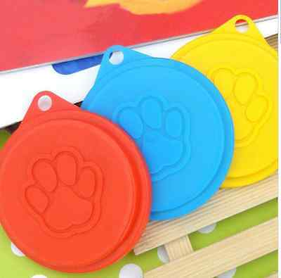 4 Quality Tin Covers Dog Cat Pet Food Can Cover Lid 88mm Lids Storage Cap Puppy