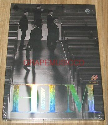 HISTORY HIM 5th Mini Album SPADE VER. K-POP CD + POSTER IN TUBE SEALED