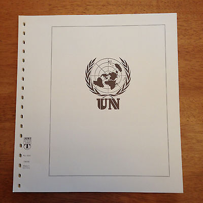 United Nations Sheetlet Flags 20 Lindner Album Pages 1980-1989 Unused Stock! |