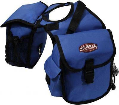 Showman ROYAL BLUE Cordura Nylon Western Saddle Insulated Horn Bags! Horse Tack