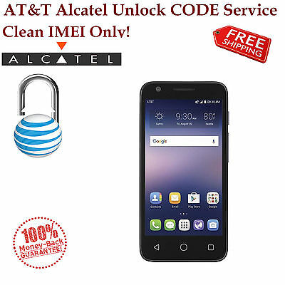 AT&T UNLOCK CODE SERVICE Alcatel Ideal 4G LTE AND ALL OTHER MODELS