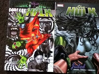 SHE-HULK Vol 5 & 6 - Planet without a Hulk, Jaded - Marvel Softcover