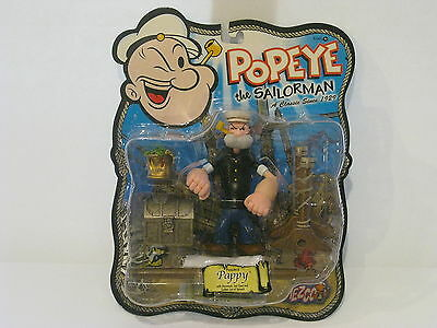 Mezco Popeye the Sailorman Series 2 Poopdeck Pappy Hammock Golden Spinach Can