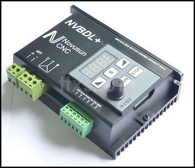 400W NVBDL+ Brushless Spindle Motor Driver CNC Control For Engraving Machine